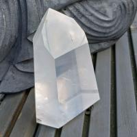Girasol Quartz Crystal Point #3