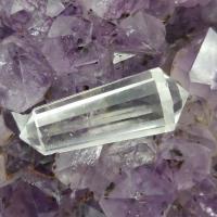 12 Sided Quartz Crystal Vogel Wand #19