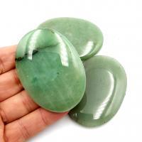 Green Aventurine Palm Stones - Large