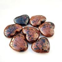 Mini Mahogany Obsidian Hearts