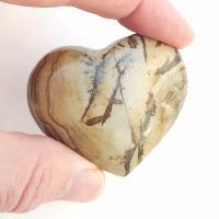 Picture Jasper Puff Heart No1