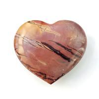 Mookaite Puff Heart No4
