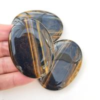 Gold Tigers Eye Palm Stones - Large