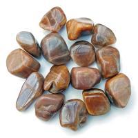Dark Sunstone Tumblestones 2.5-3cm