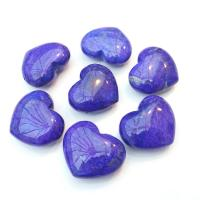 Mini Purple Howlite Hearts