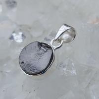 Elite Shungite Pendant in Solid Silver No7