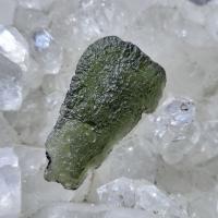 Genuine Green Moldavite Meteorite #5A