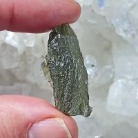Genuine Green Moldavite Meteorite #6A