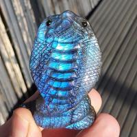 Labradorite Crystal Cobra Snake No1b