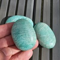 Amazonite Soap Bar Palm Stones