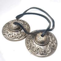 Tibetan Ting Sha Cymbals - Dragon