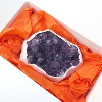 Amethyst Cluster Specimen in Gift Box 5-6cm