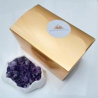 Amethyst Cluster Specimen in Gift Box