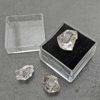 Herkimer Diamonds 1cm in Specimen Box