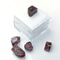 Zircon Crystals in Specimen box