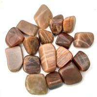 Moonstone Tumble Stones - Orange