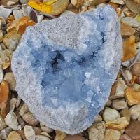 Large Celestite Geode Specimin #7