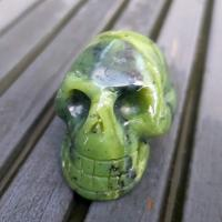 Nephrite Jade Crystal Skulls No1