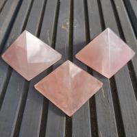 Rose Quartz Pyramids 4cm