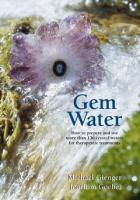 Gem Water by Michael Gienger & Joachim Goebal