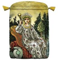 Empress Wise Spirit Satin Tarot Bag