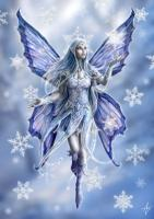 Snowflake Fairy Card