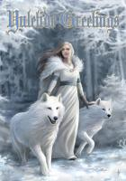 Winter Guardians Greetings Card