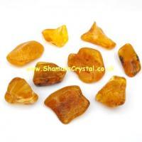 Amber Tumble Stone Chips