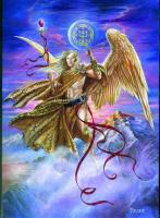 Archangel Raphael Greeting Card
