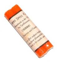 Orange Beeswax Candles pack of 2