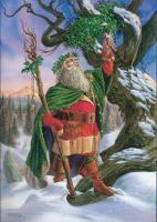 Gathering the Mistletoe Card