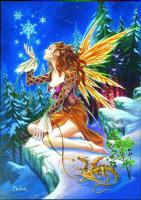 Fairy Yuletide Greetings Card