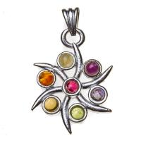 Spinning Star Chakra Pendant SP