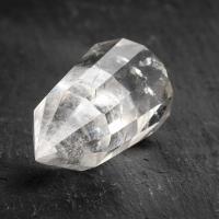 12 Sided Quartz Crystal Vogel Wand #4