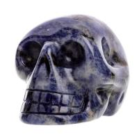 Sodalite Crystal Skulls No2