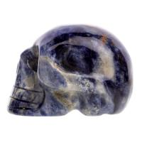 Sodalite Crystal Skulls No3