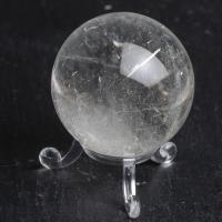 Brazilian Quartz Crystal Ball #45