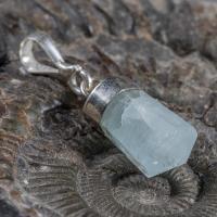 Natural Aquamarine Gem Stone Pendant NoR17