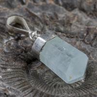 Natural Aquamarine Gem Stone Pendant NoR6