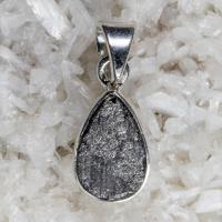 Elite Shungite Pendant in Solid Silver No1