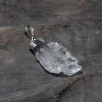 Faden Quartz Pendant in Silver No.20