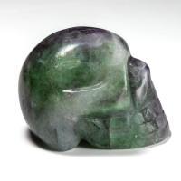 Fluorite Crystal Skull No12