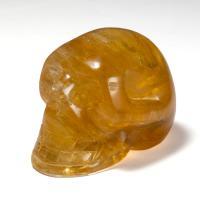 Honey Calcite Crystal Skull No13
