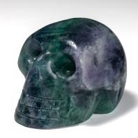 Fluorite Crystal Skull No14