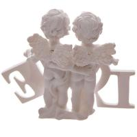 Cherubs in Love Ornament