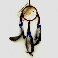 "3"" Dream Catcher - Dark Red"