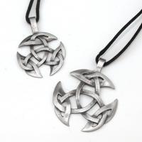 Small Open Triad Celtic Knot Pendant