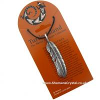 Eagle Feather Pendant from Turtle Island
