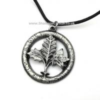 Tree Runes Pewter Pendant