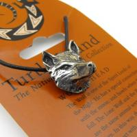 Wolfs Head Pendant from Turtle Island